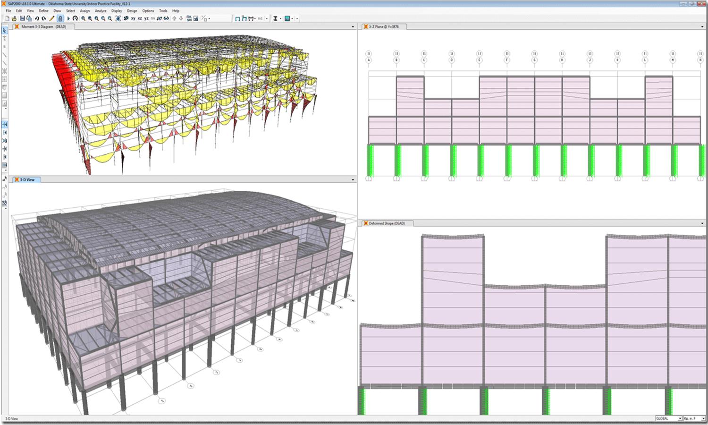 Estructuras edificaci n jos lavado c lculo de estructuras for Planos de estructuras