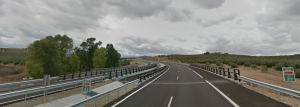 Viaducto sobre El Arroyo Vil (Jaén)